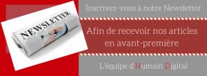 Newsletter Humain Digital