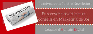 Newsletter Marketing de Soi